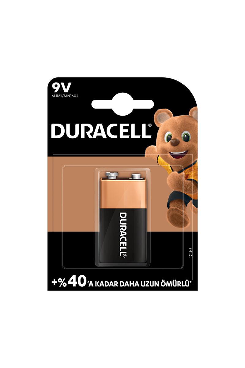 Duracell 9 Volt Tekli Pil
