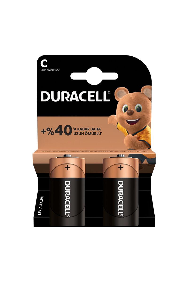 Duracell C 2'Li Ortal Pil