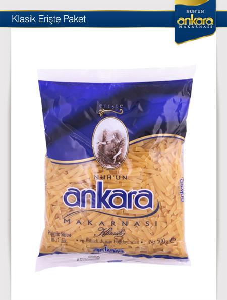 Ankara Paket Erişte 500 Gr 20 Adet