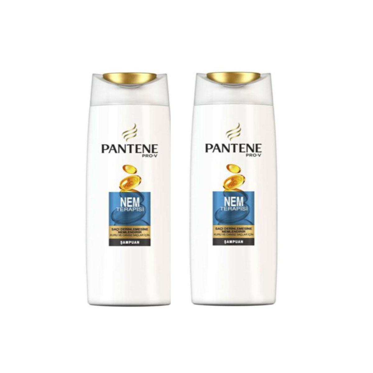 Pantene Şampuan Nem Terapisi 500 Ml X 2 Adet