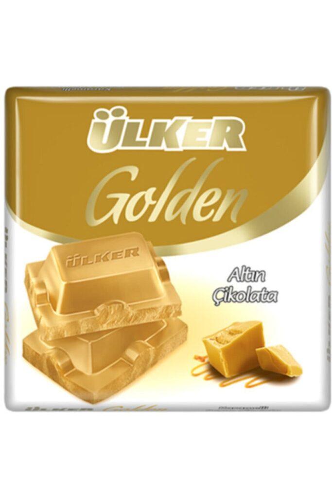 Golden Altın Kare Çikolata 60gr 6 Adet