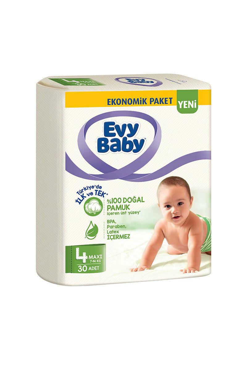 Evy Baby Bebek Bezi Ekonomik 30 adet 4 Numara
