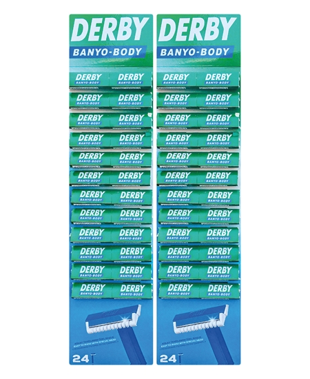 Derby Banyo Tıraş Bıçakğı 48 li Kartela