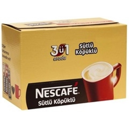 Nescafe 3 ü 1 Arada Sütlü Köpüklü 56 Adet