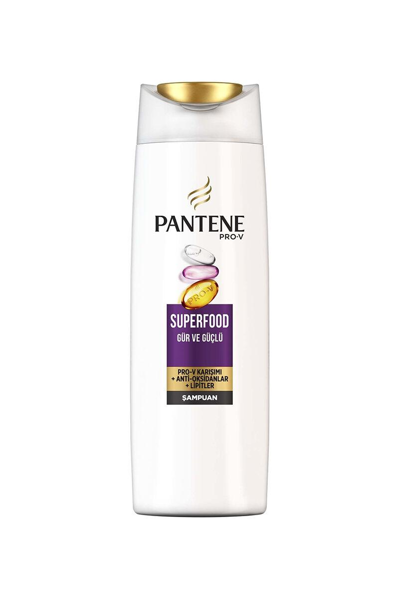 Pantene Şampuan Superfood Gür ve Güçlü 470 ml