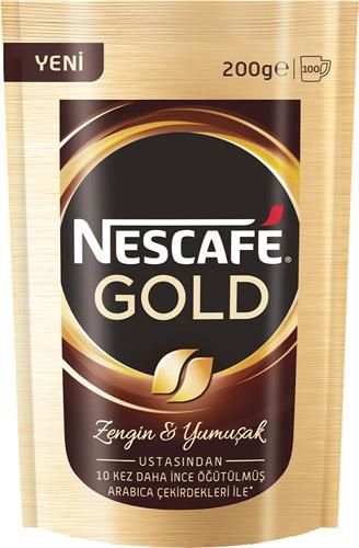 Nescafe Gold Kahve 200 Gr Poşet