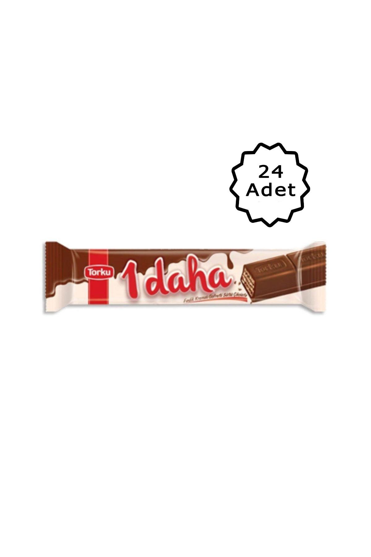 Torku 1 Daha Sütlü Çikolatalı Gofret 38 Gr 24 Adet