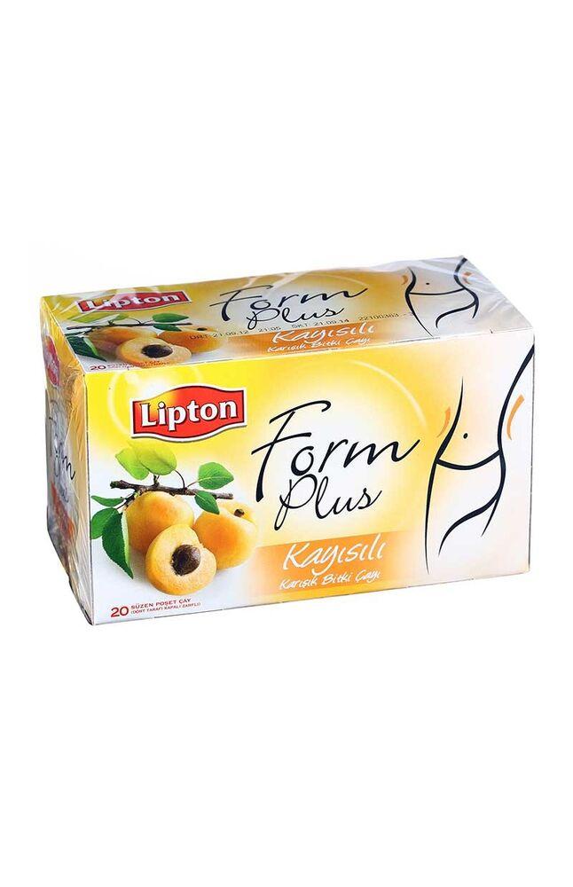 Lipton Bitki Çayı Form Plus Çayı 20'li Kayısılı