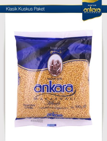 Ankara Paket Kuskus 500 Gr 20 Adet