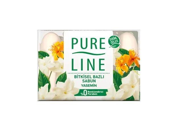 Pure Line Yasemin Katı Sabun 4X70Gr