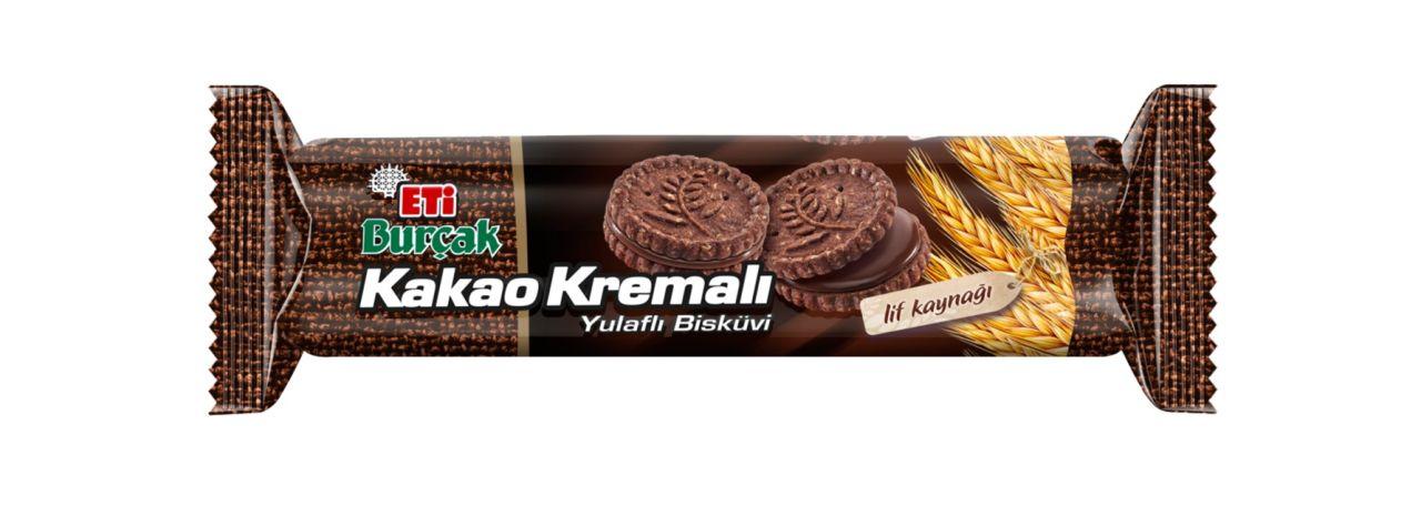 Eti Burçak Kakao Kremalı Yulaflı 82 Gr 18 Adet