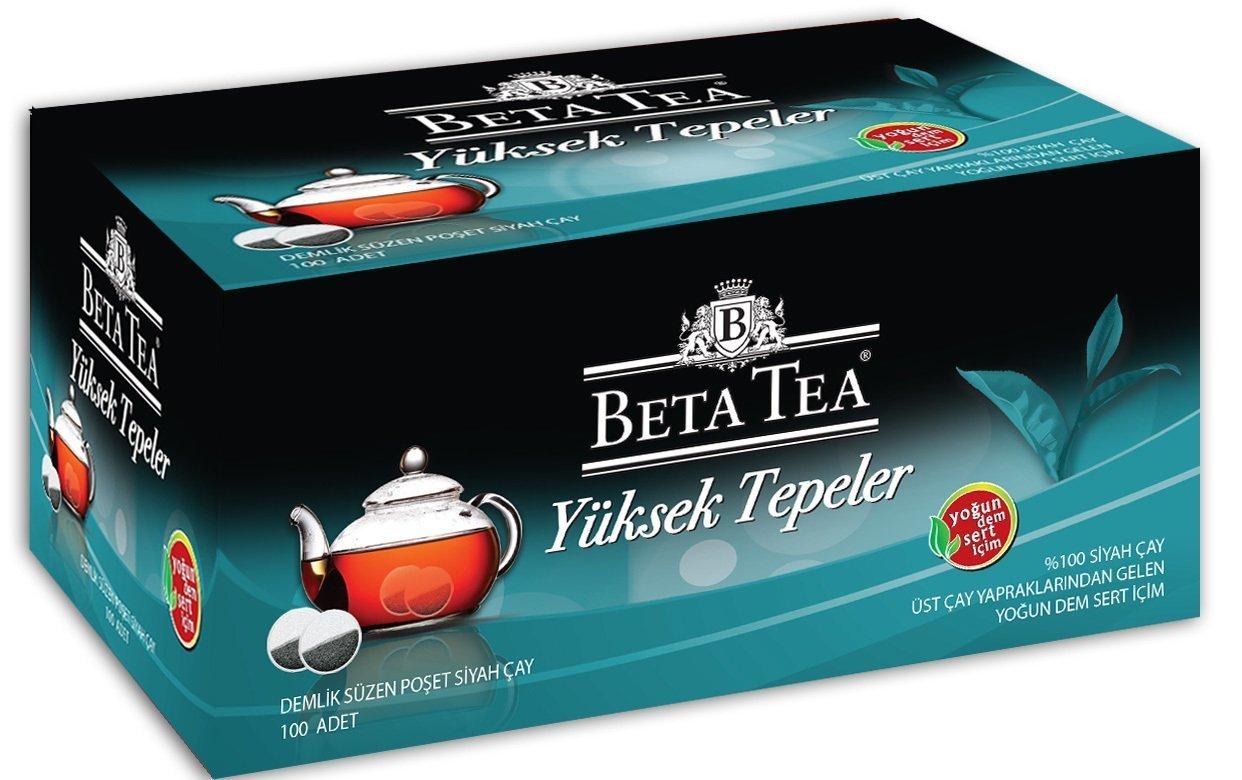 Beta Tea Yüksek Tepeler Demlik Poşet Çay 100 Adet