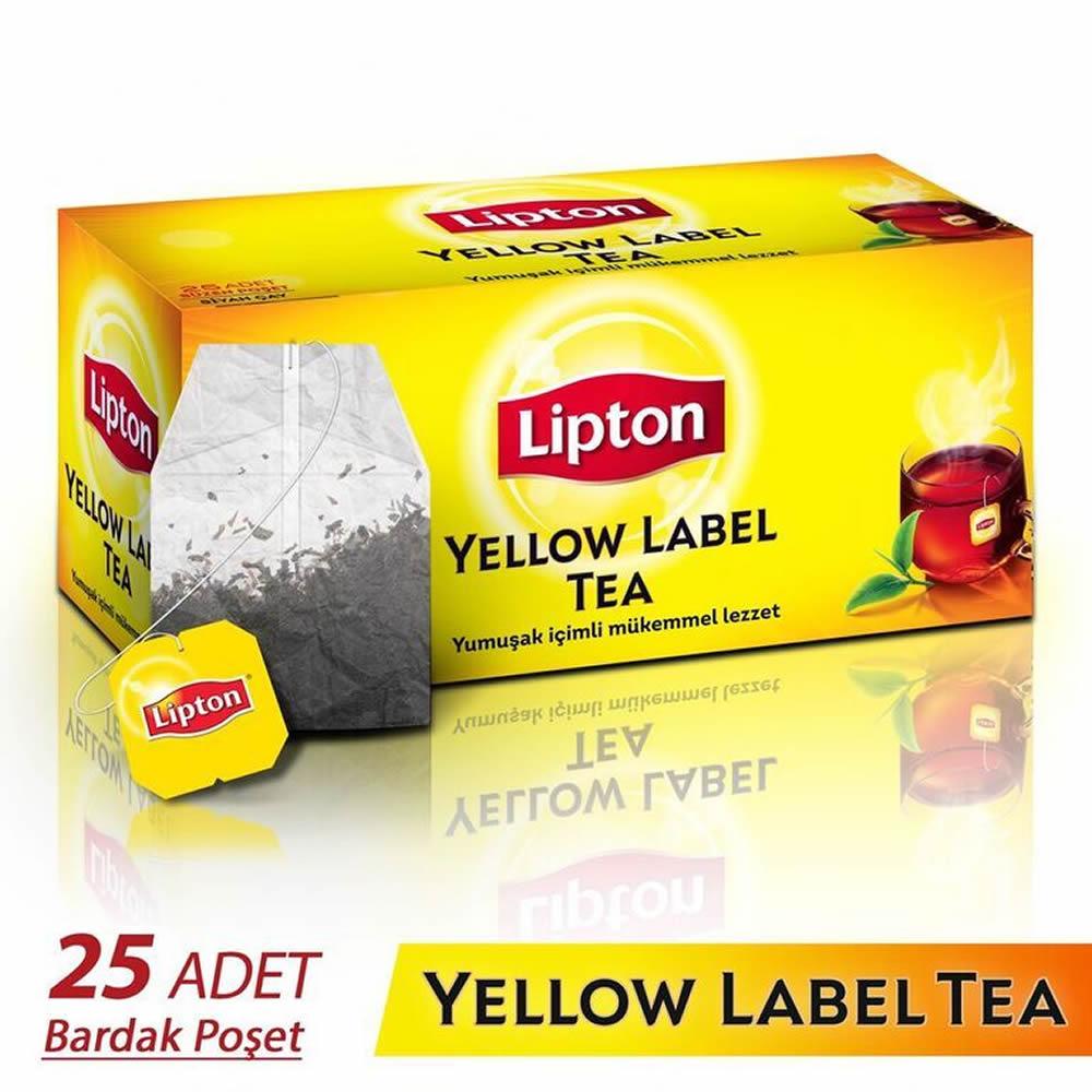 Lipton Yellow Label Bardak Poşet Çay 25 li 50 gr