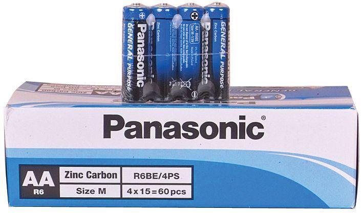 Panasonic Kalem Pil 60'Lı Paket