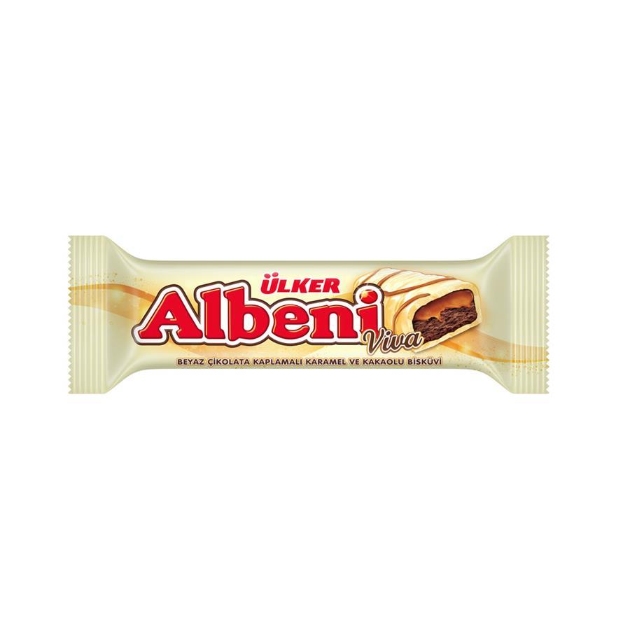 Ülker Albeni Viva Beyaz Çikolata  36 Gr 24 Lü