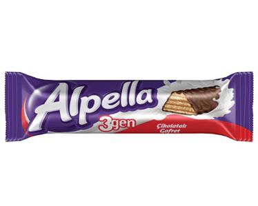 Ülker Üçgen Gofret Çikolatalı 28 Gr 24 Adet