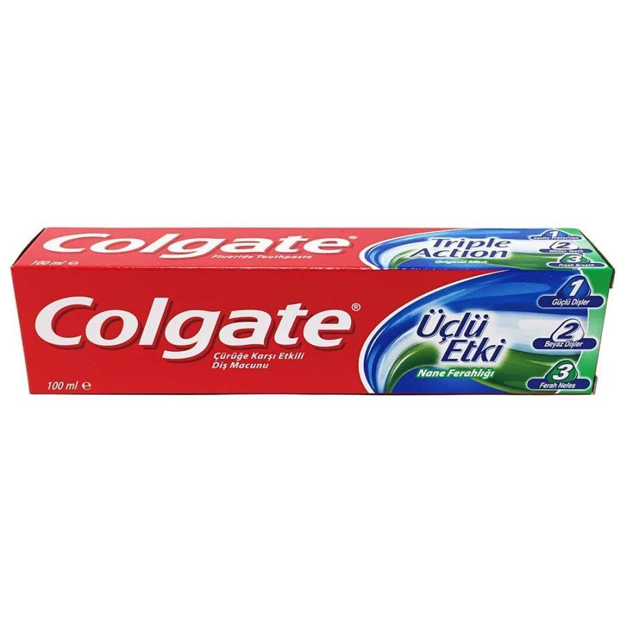 Colgate Diş Macunu Üçlü Etki 100 ml Nane Ferahlığı