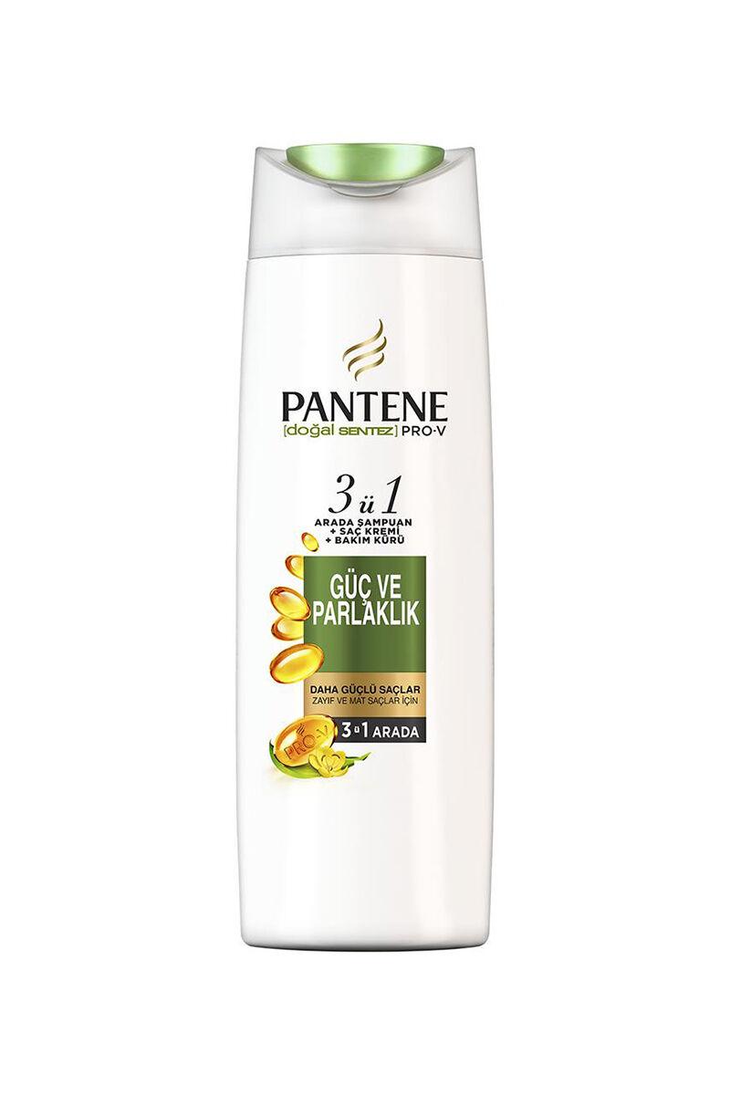 Pantene Şampuan Güç ve Parlaklık 3'ü 1 Arada 470 ml