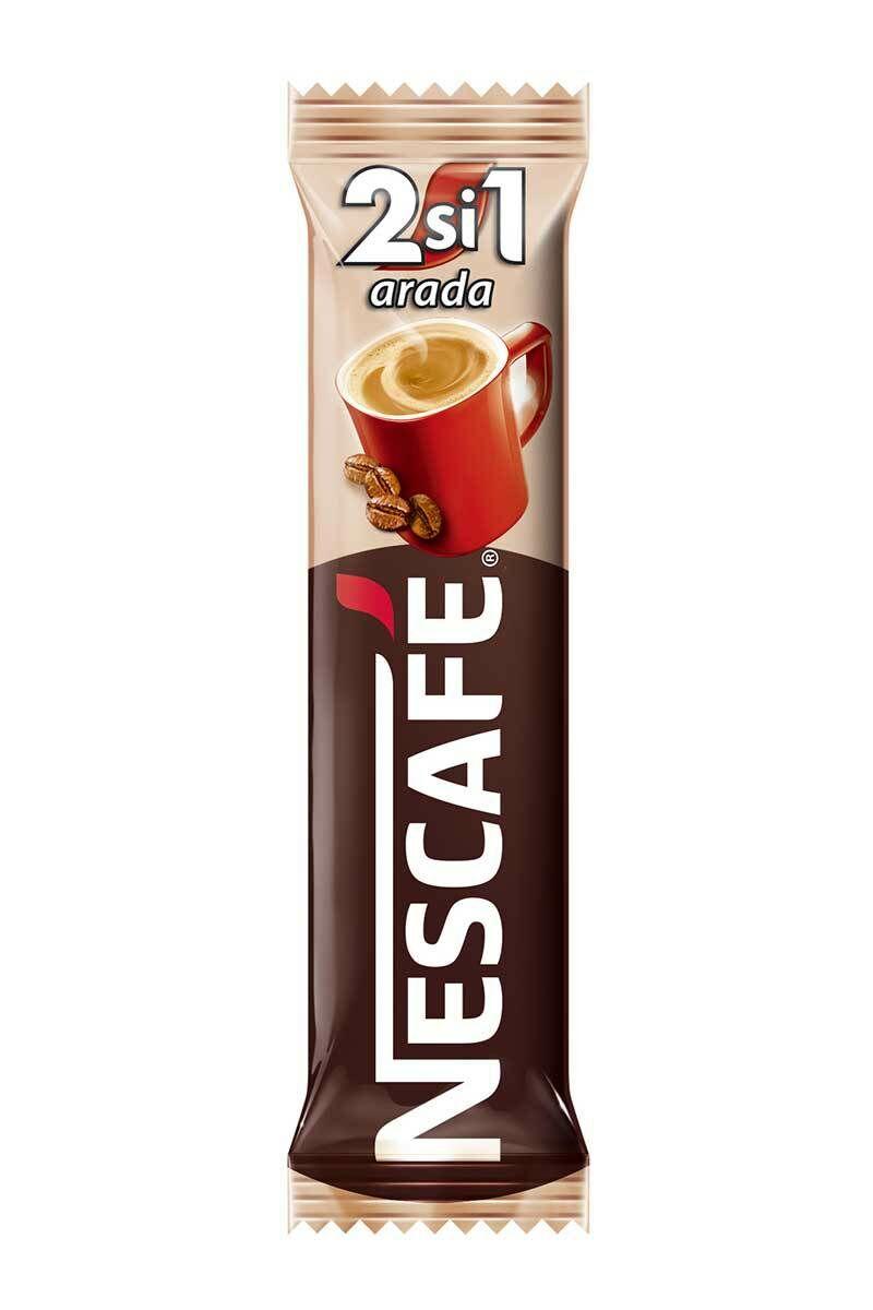 Nescafe 2 si 1 Arada Şekersiz Kahve 48 Adet