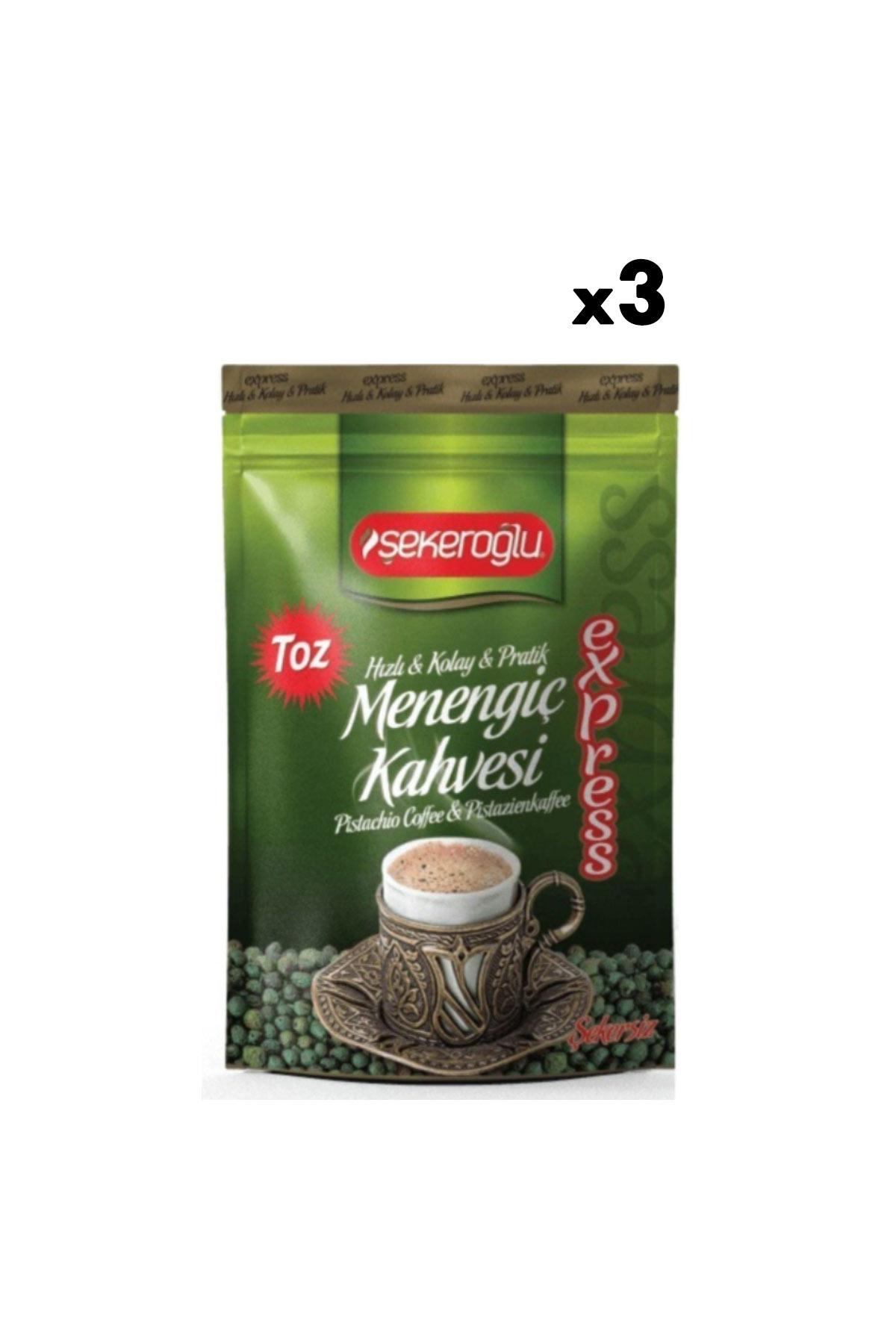 Şekeroğlu Express Toz Menengiç Kahvesi 200 Gr X 3 Adet