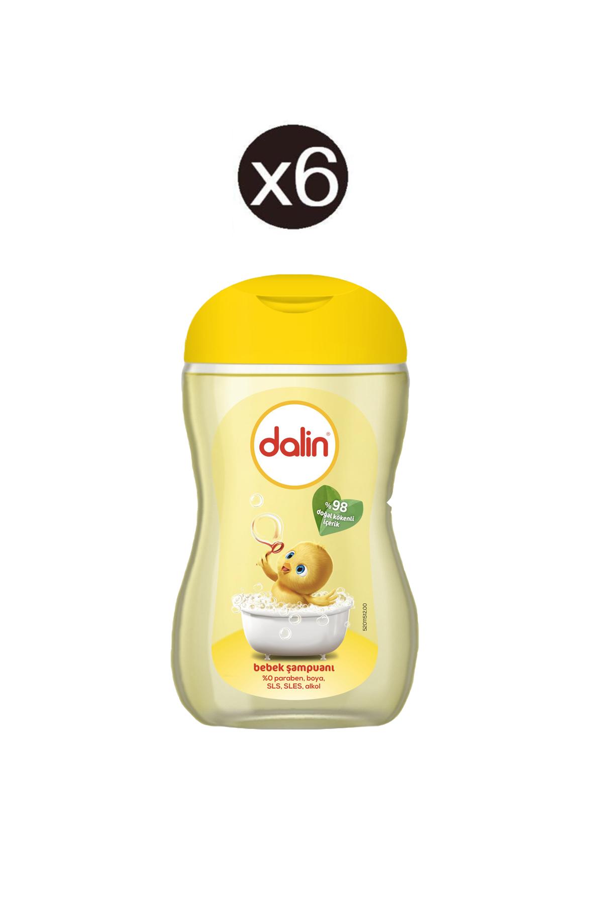 Dalin Şampuan 125 Ml Klasik 6 Adet