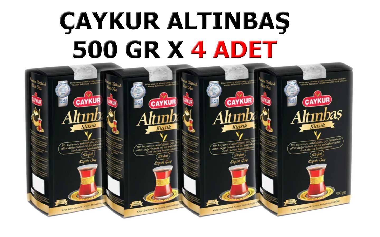 Çaykur Altınbaş Klasik Doğal Siyah Dökme Çay 4 x 500 GR