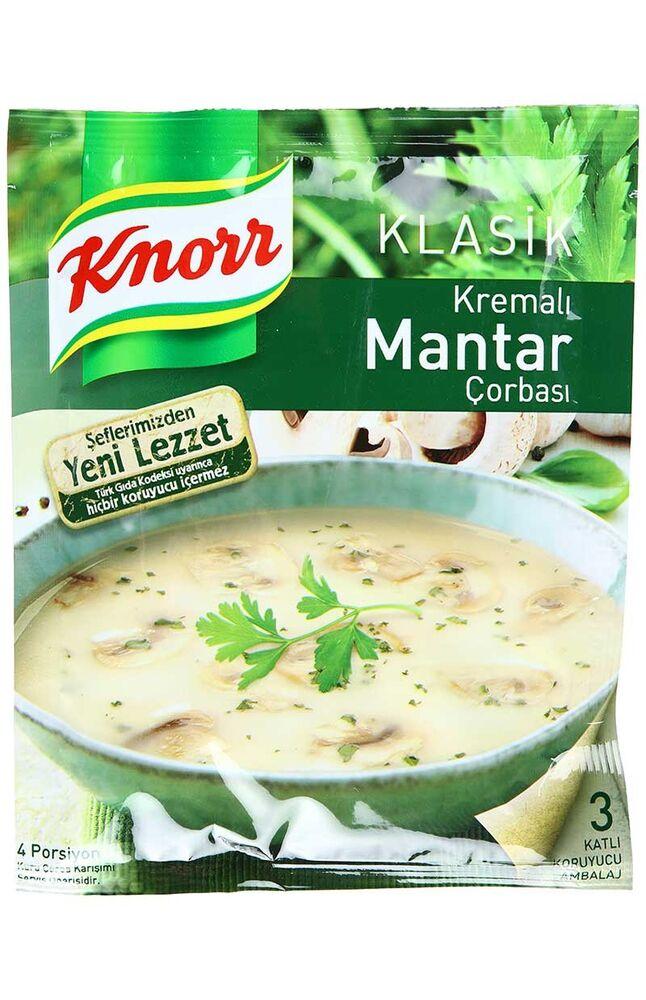 Knorr Çorba Kremalı Mantar 12 Adet