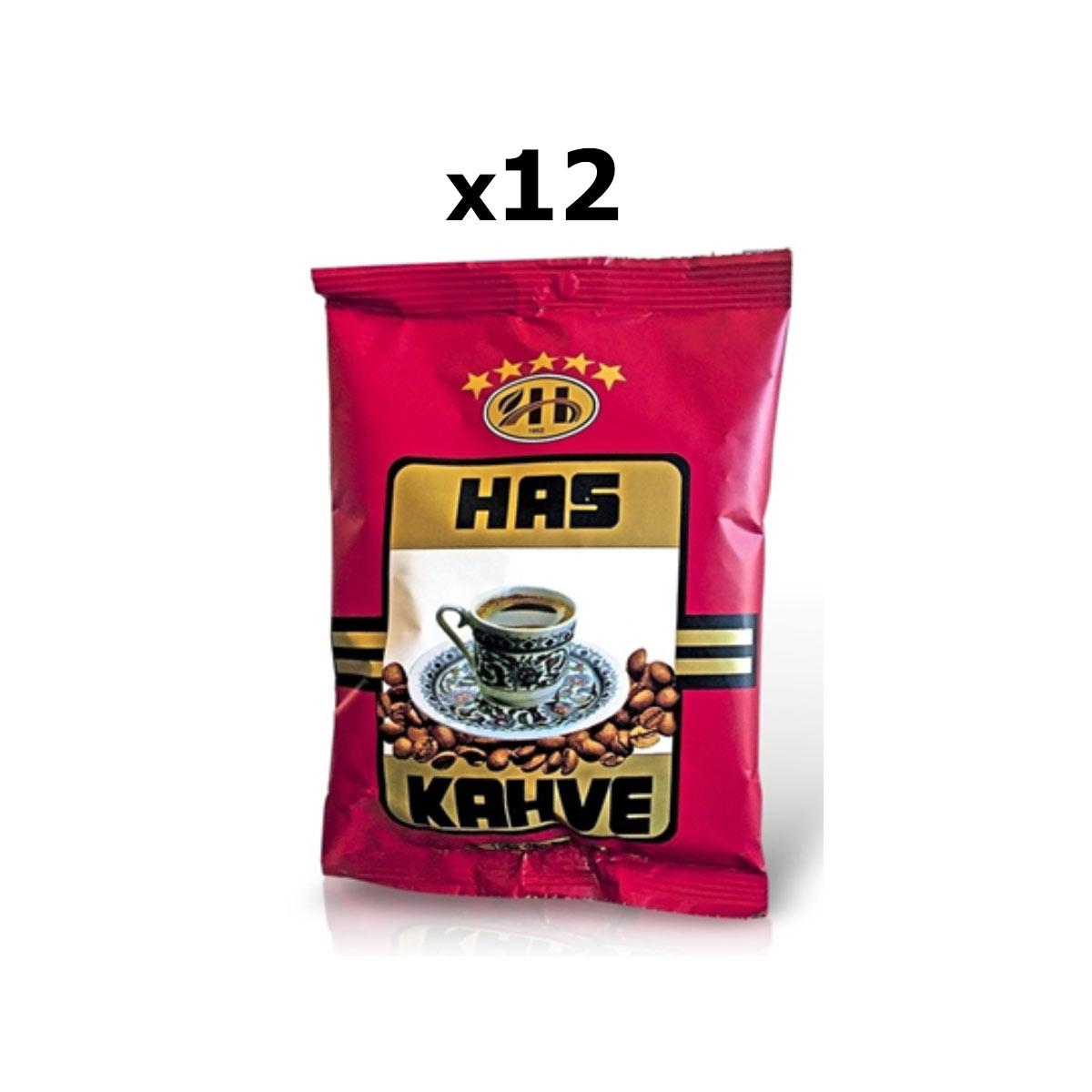 Has Kahve Türk Kahvesi 100 Gr X 12 Adet