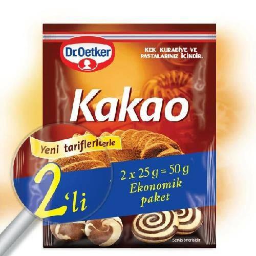 Dr. Oetker Kakao 50 Gr 24 Adet